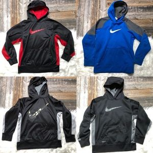 NIKE Hoodie Lot of 4 Boys Size Large